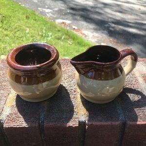 Ceramic planter from farm house decor- set of 2
